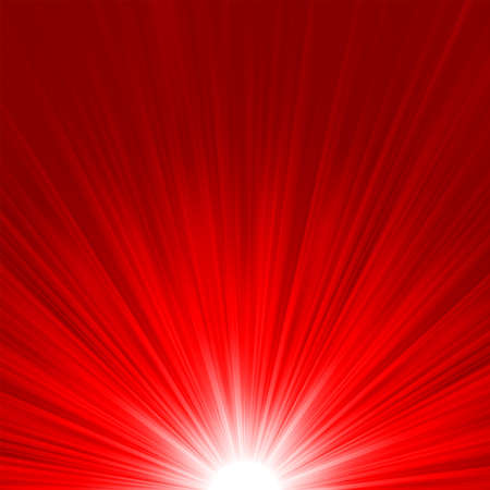 semaforo rosso: Stella scoppio fuoco rosso e giallo
