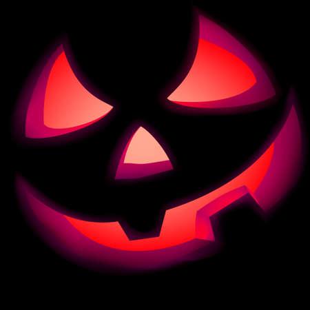 jack o: Jack O Lantern pumpkin illuminated green   included