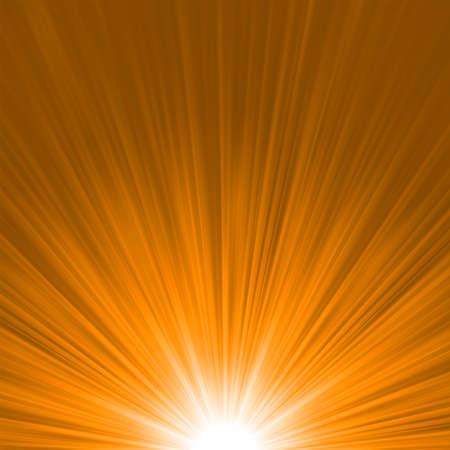 emanation: Star burst red and orange fire
