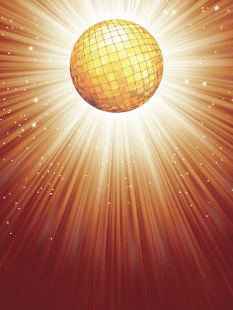 discoball: Beidge disco rays with stars   file included