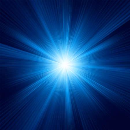 Blauwe kleur ontwerp met een uitbarsting bestand