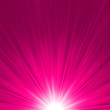 laser radiation: Star burst pink and white fire   file included