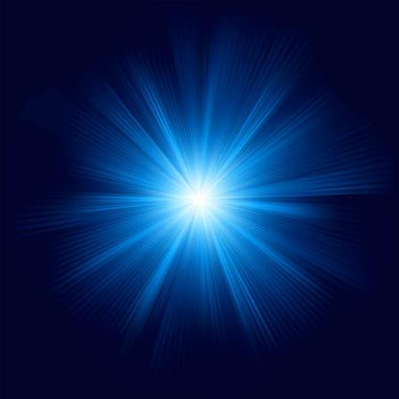 star burst: Blue color design with a burst