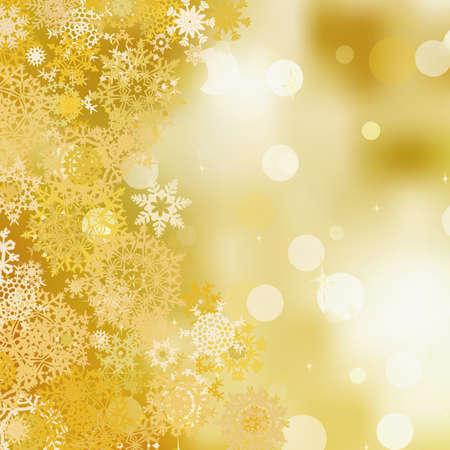 lettres en or: Or christmas background