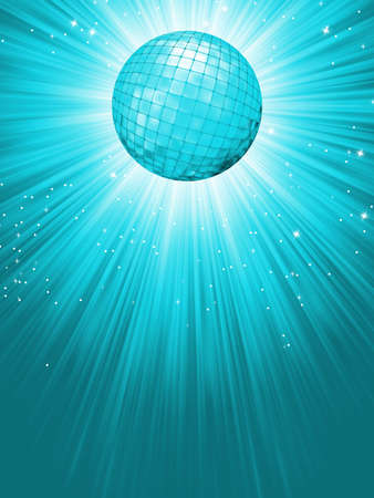 Party Banner with Disco Ball   file included  Vector