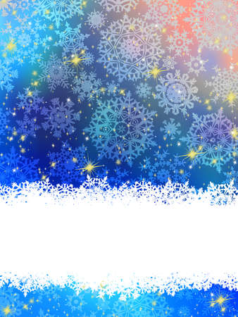 Blue Christmas Background  EPS 8 vector file included Stock Vector - 16133945