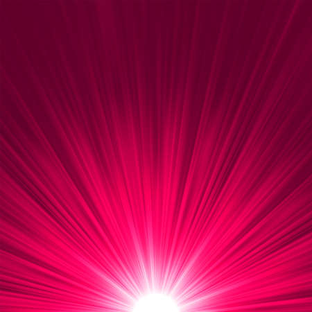 emanation: Star burst purple and pink fire