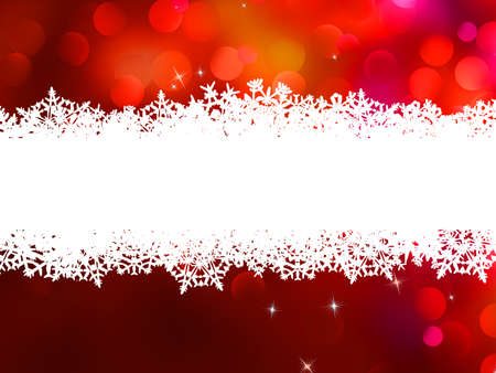 Red Christmas background with copyspace  And also includes EPS 8 vector Vector