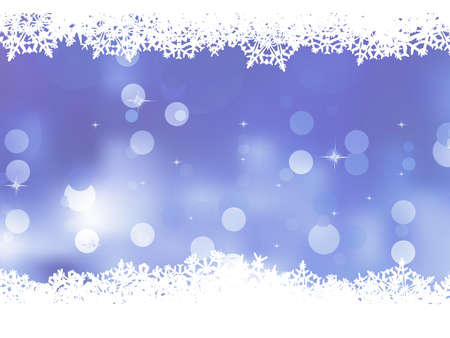 Blue background with snowflakes Stock Vector - 16443100