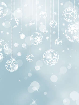 Christmas background with snowflakes  And also includes Stock Vector - 16443101