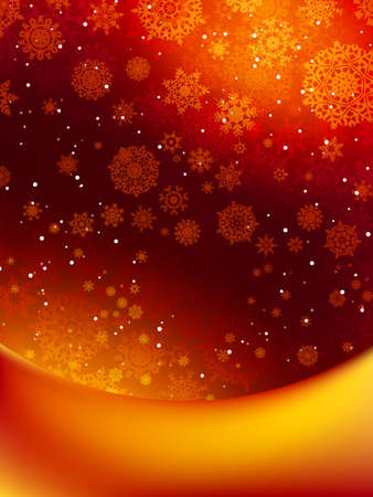 Abstract christmas background Stock Vector - 16489542