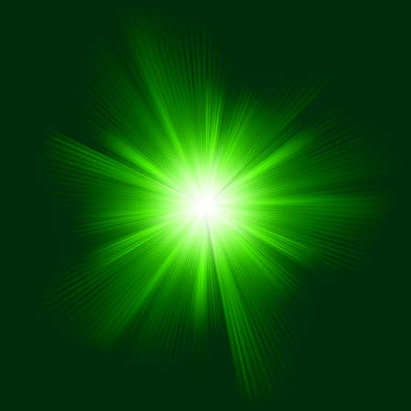 Green color design with a burst  EPS 8 vector file included  Vector
