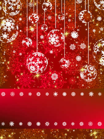 Abstract christmas background   Stock Vector - 16543269