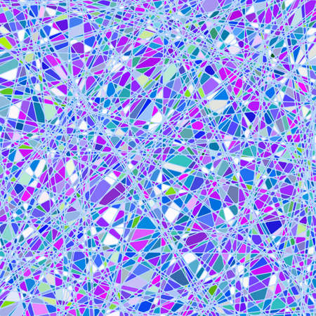 Stained glass texture in a purple tone, different orientation. Vector