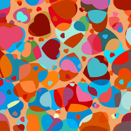 includes: Abstract background to the Valentine s day  And also includes EPS 8 vector Illustration