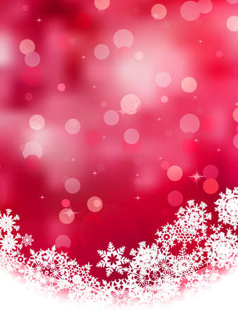 christmas snow: Multicolor abstract christmas background with snowflake