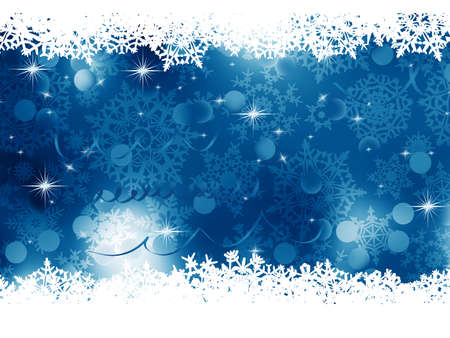 Blue Christmas Background   Stock Vector - 16749578