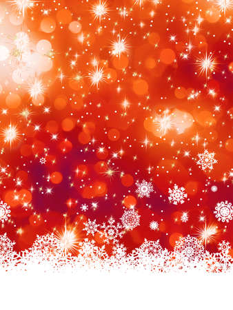 Multicolor abstract christmas background with snowflake  EPS 8 vector file included Stock Vector - 16808753