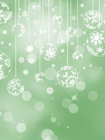 Elegant christmas silver background with beautiful snowflakes   Vector