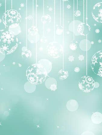 Merry Christmas greeting card Stock Vector - 17015998