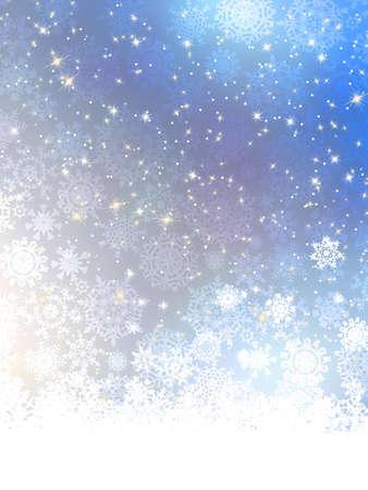 Elegant blue christmas background  Stock Vector - 17073184