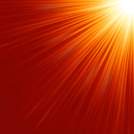Star burst red and yellow fire Stock Vector - 17159861