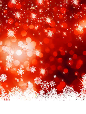 Multicolor abstract christmas background with snowflake  Stock Vector - 17159865