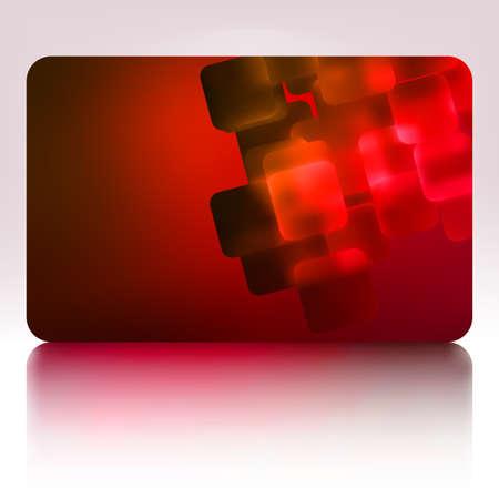 Beautiful gift card  Stock Vector - 17273054