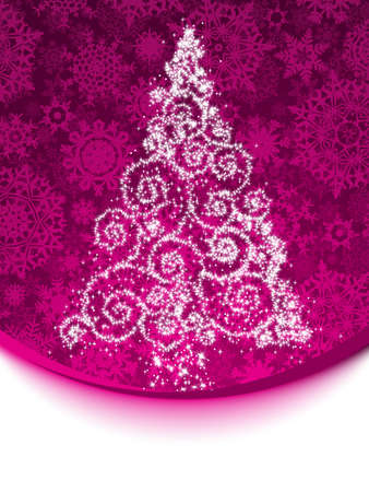Elegant christmas background Stock Vector - 17312834