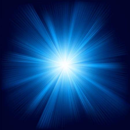 Conception de couleur bleue avec un éclat
