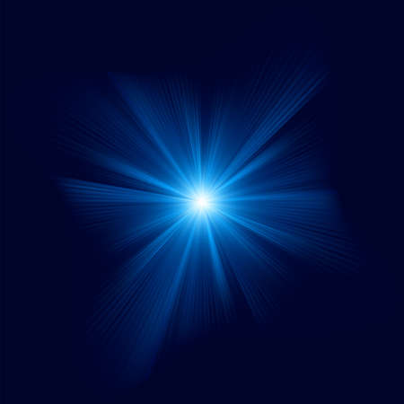 Blue color design with a burst    file included Vector