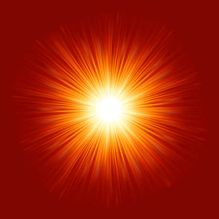 star burst: Star burst red and yellow fire  EPS 8 vector file included Illustration