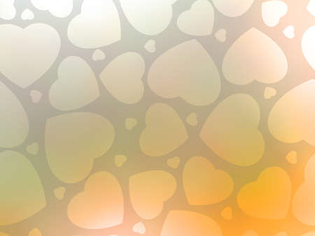 Valentine s day background with hearts   Vector