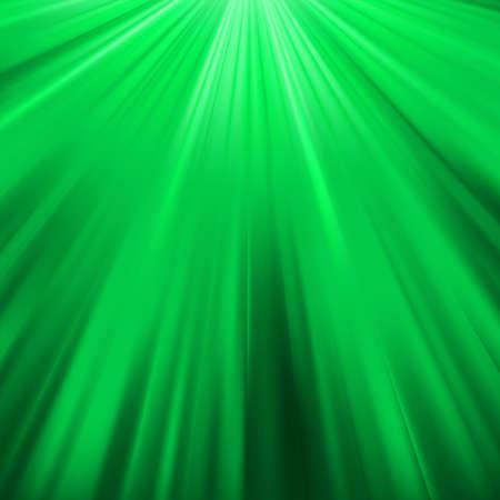 Green luminous rays  Stock Vector - 17593585