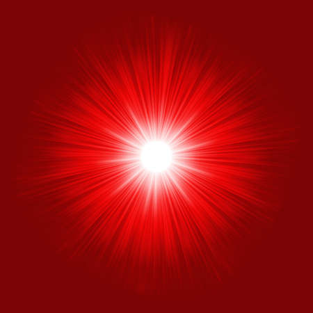 Star burst red and yellow fire  EPS 8 vector file included Vector