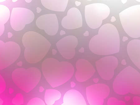 st valentine  s day: Valentine hearts pink background  St Valentine s day  EPS 8 vector file included Illustration