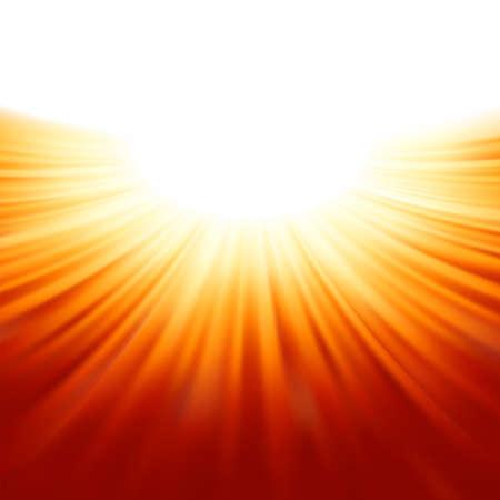 Sunburst rayons de soleil tenplate fichier inclus