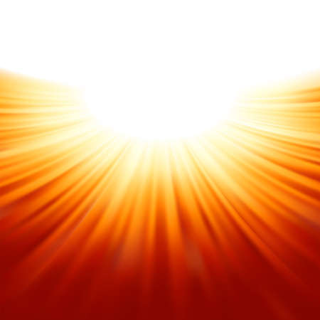 Sunburst rays of sunlight tenplate file included Vector
