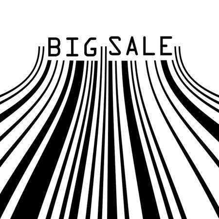 Big Sale bar codes all data is fictional  EPS 8 vector file included Stock Vector - 17814839