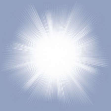 rays of light: Elegant design with a burst