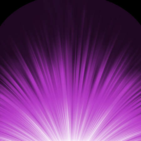 emanation: Star burst purple and white flare  Illustration
