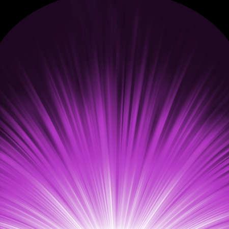 Étoile éclaté fusée violet et blanc