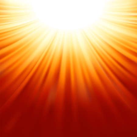 Sunburst rays of sunlight tenplate  EPS 8 vector file included Stock Vector - 18130110