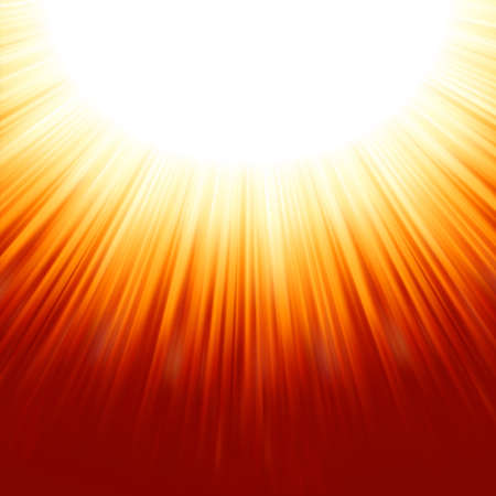Sunburst rays of sunlight tenplate  EPS 8 vector file included Vector