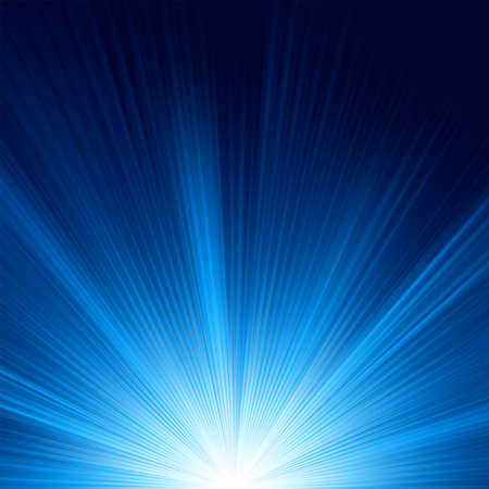 Blue color design with a burst  EPS 8 vector file included