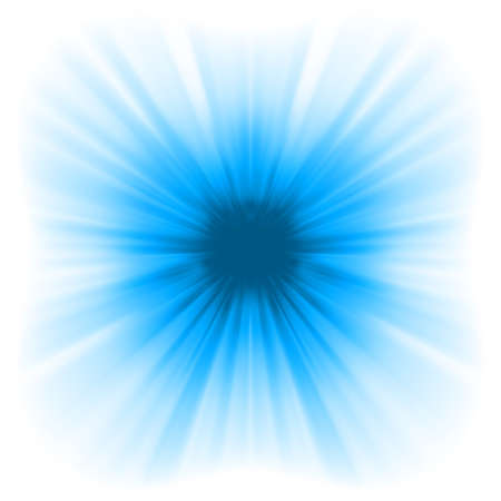 Abstract burst on white, easy edit  EPS 8 vector file included