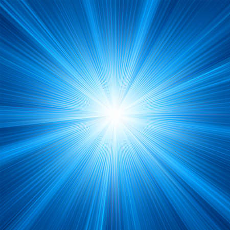 Blue color design with a burst  EPS 8 vector file included  Vector
