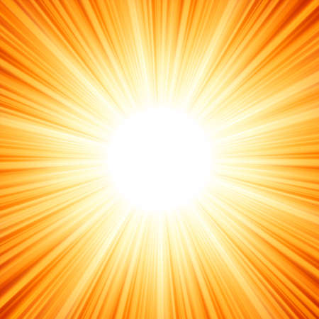 laser radiation: Star burst red and yellow fire  EPS 8 vector file included