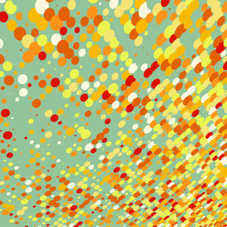 digital illustration: Abstract colorful design background vector file included
