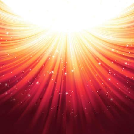 Sunburst rays of sunlight template Banco de Imagens - 20183813